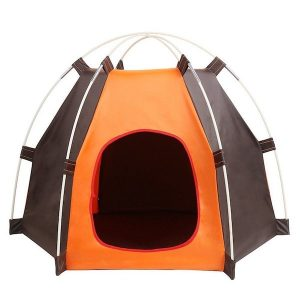 caseta plegable pet home para perros