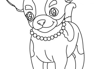 imagenes de perros chihuahua para dibujar