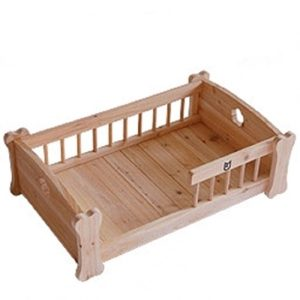 modelos de camas de madera para perros