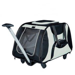 transportin con ruedas para perros medianos